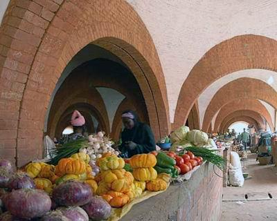 Central Market, Koudougou, Burkina Faso