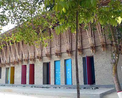 School in Rudrapur, Dinajpur, Bangladesh