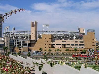 پارك Petco، زمین بیسبال جدید San Diego Padres، San Diego، كالیفرنیا، 1996-2004