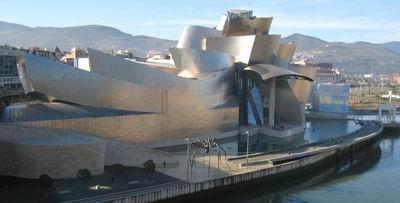 موزه گوگنهایم بيلبائو، اسپانیا، اثر فرانک گری، 1997
