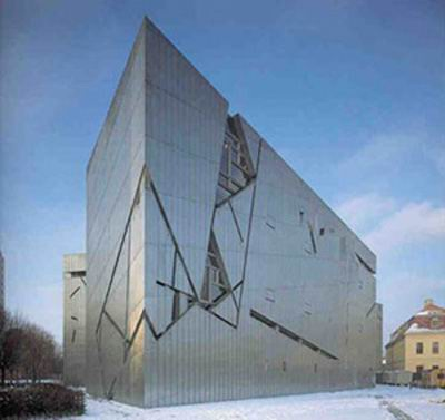موزه یهودیان، برلین، اثر دانیل لیبسکیند