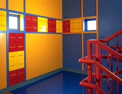 دیوارهای لمس کردنی در دورتادور موزه