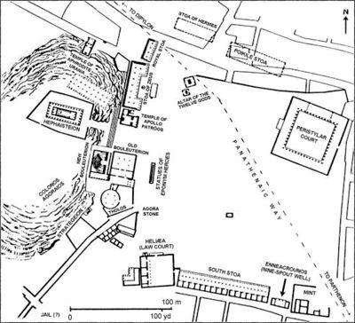 آگورا: فضای عمومی یونان باستان