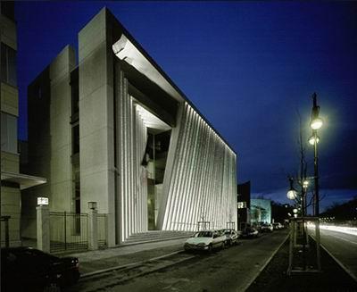 Mexican Embassy, Berlin, Teodoro Gonzalez de Leon/Francisco Serrano, 2001