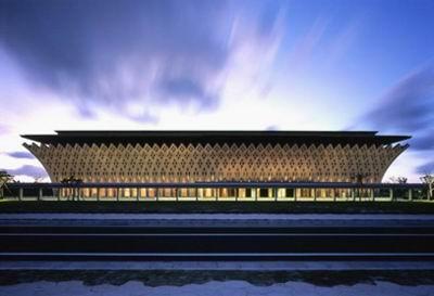 National Theater Okinawa, Japan, Takamatsu Architect, 2003