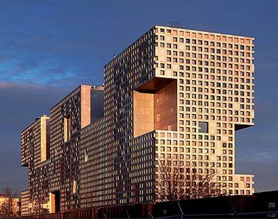 Simmons Hall, MIT, Cambridge, Massachusetts, Steven Holl Architects, 2003