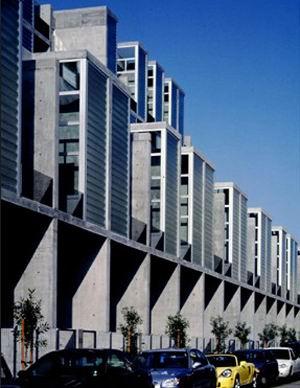 Yerba Buena Lofts, San Francisco, Stanley Saitowitz/Natoma Architects Inc., 2002