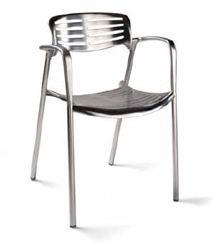 صندلی چدنی ـ آلومینیومی Toledo، ساخت شركت Amat