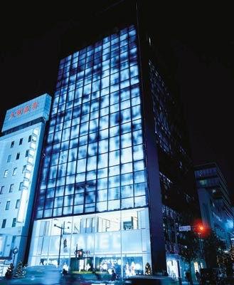 ساختمان جدید اداره مرکزی Chanel در توکیو