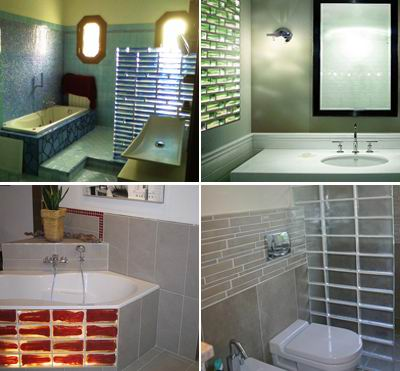 Glass Blocks of Poesia in Baths Zone