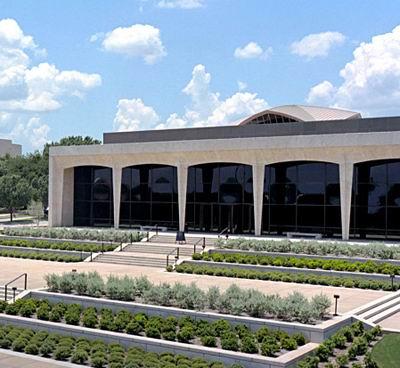 Amon Carter Museum, Fort Worth, 1961 / Philip Johnson