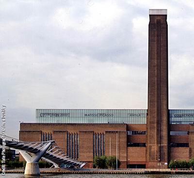 Tate Modern, London, 2000 / Herzog & de Meuron