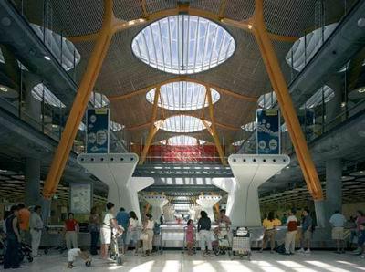 Terminal 4 - Madrid Barajas Airport, 1997-2005