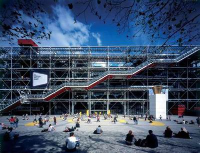 Centre Pompidou, Paris, 1971-1977