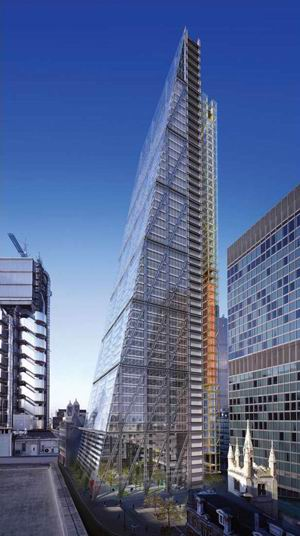 The Leadenhall Building, London, 2002-2006