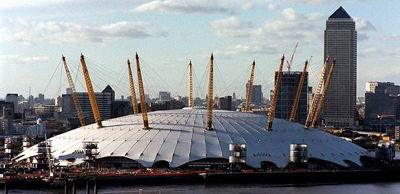 Millennium Dome, London, 1996-1999