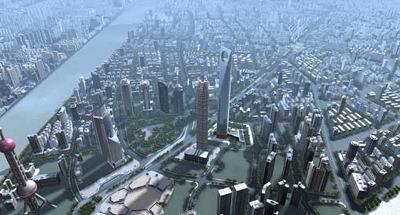 موقعیت شهری مركز مالی جهانی شانگهای