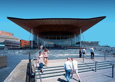 National Assembly for Wales, Cardiff / Richard Rogers