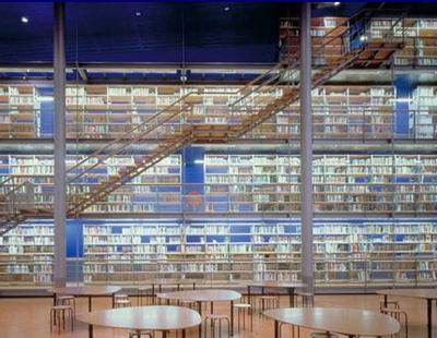 Library of Delft Technical University / Mecanoo Architects