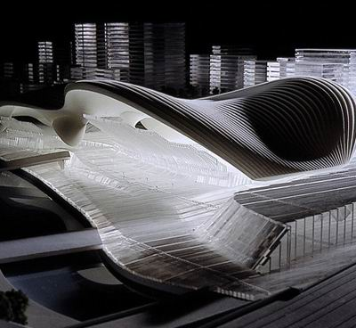 2012 London Aquatics Center / Zaha Hadid