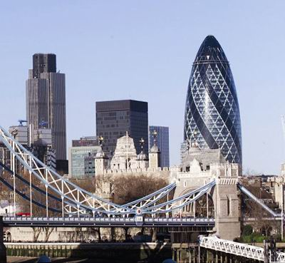 The Gherkin, 2004 / Foster and Partners
