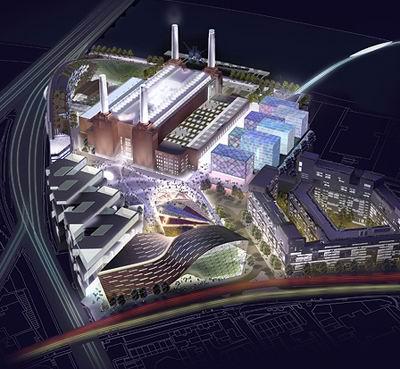 Battersea Power Station, 2009