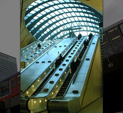 Canary Wharf Tube Station / Foster and Partners