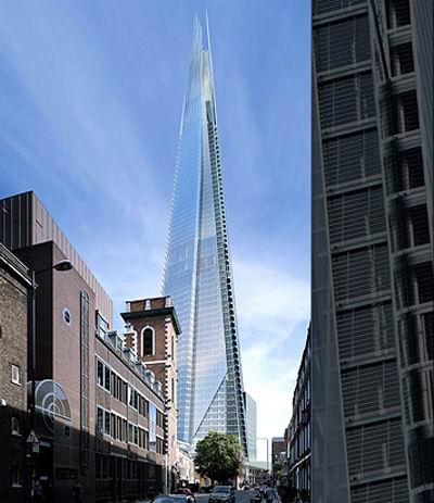 The Shard Tower at London Bridge, 2010 / Renzo Piano